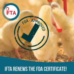 IFTA renews the FDA certificate!