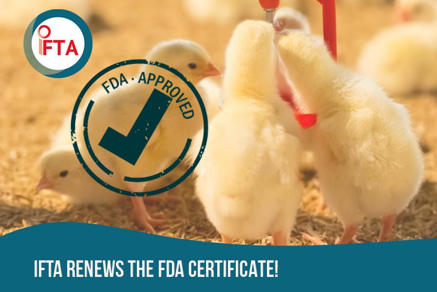 IFTA renews the FDA certificate!
